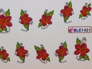 Nail Art Sticker Tattoo One Stroke BLE 1421
