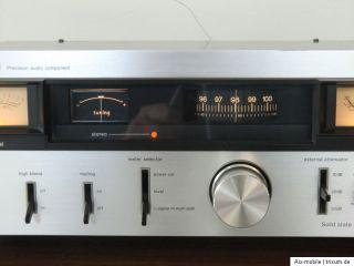 DENON TU 701 rare Vintage Tuner silber silver excellent state 1977 78