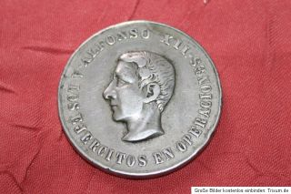 Spanien Spain Espana Alfonso XII. (1875 1885) Medal Medaille (N) 35mm