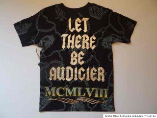 Ed Hardy Kids Christian Audigier T Shirt Shirt Jungen Mädchen Gr. 104