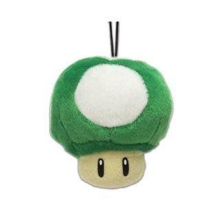 Super Mario Plüsch grüner Pilz Spielzeug