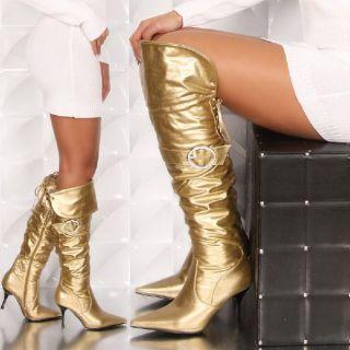 SEXY OVERKNEE STIEFEL High Heels Gr 36 37 38 39 40 41