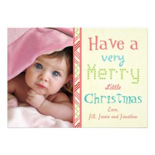 Have a Very Merry Little Christmas Photo Card