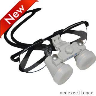 Dental Lupenbrille 3.5 X Dental Loupes Dentist Optical Glasses 420mm