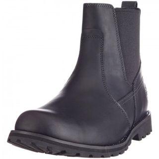 NEU TIMBERLAND Herren Stiefel 84588 Chelsea Boots Lederschuhe schwarz
