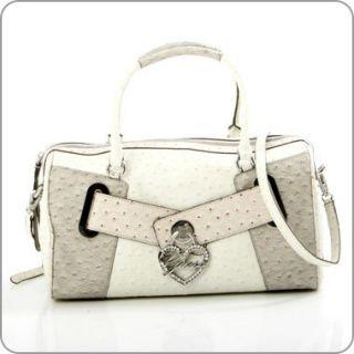 Guess Handtasche Citrine   Large Box Bag Stone/Multi +++ GU11H357