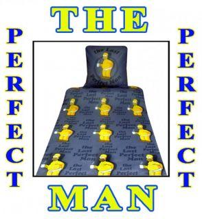 tlg. Simpsons Bettwäsche Homer Rock The Perfect Man