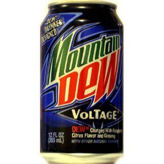 Mountain Dew Voltage 355ml x 12 Lebensmittel & Getränke