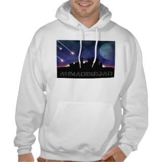 Surprise Party For Ahmadinejad Hooded Pullover