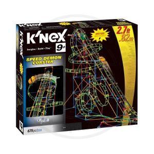 KNEX 58108 Speed Demon Coaster Riesen Achterbahn Rollercoaster H 82cm