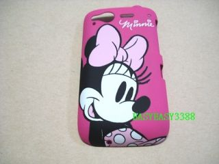 New Minnie Mouse Hot pink slim case back cover for HTC DESIRE S
