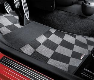 MINI R55 R59 Fussmatten JCW Checkered Flag vorne *Neuware*