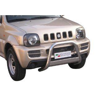 Frontschutzbügel aus Edelstahl für den Suzuki Jimny Baujahr 2006