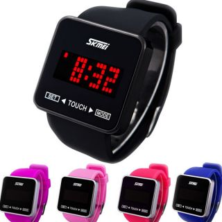 Uhr LED Armbanduhr Touch Screen Watch Couples Lovers Sport Damenuhr