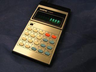 Taschenrechner Calculator Brother 418 er II 418er 70er