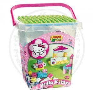 Hello Kitty Spielkiste 104tlg Set Baukloetze Bausteine mit Bilder