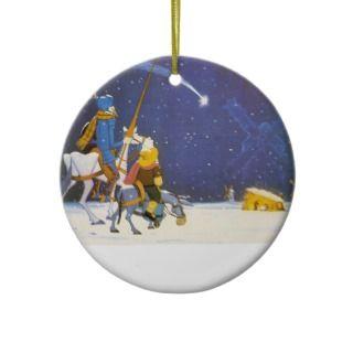 QUIXOTE   Adorno de Navidad Christmas Tree Ornament