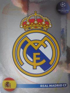 Panini CL 08/09 # Real Madrid CF Wappen Emblem # 434