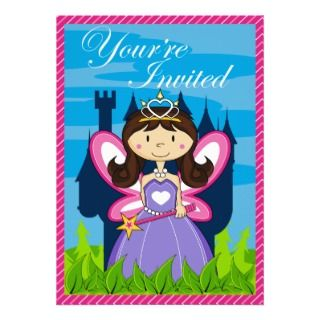 Fairytale Princess Party Invite