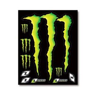 One Industries Monster Grafik Dekor Bogen Black/Green