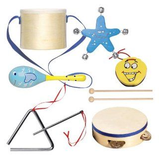 Tchibo Kinder Musikinstrumente Set incl. Holztrommel