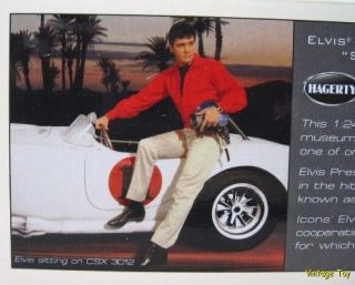 Elvis Presley   1965 Shelby Cobra 427 S/C 124 diecast   Spinout