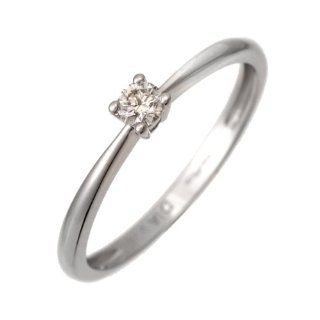 Damen Ring 9 Karat (375) Gelbgold Gr. 49 (15.6) 24 Diamanten PR06953YN