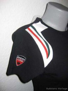 Ducati Corse Damen T Shirt Schwarz Gr.S oder XL