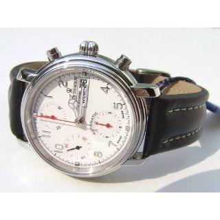 Revue Thommen Herren Automatik Chronograph 1701 Day Date/White 17071