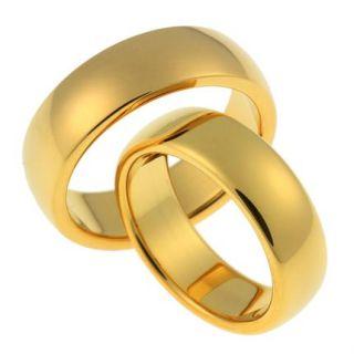 Wolfram Partnerringe/Verlobungsringe Ringe inkl. Gravur/gold SW003