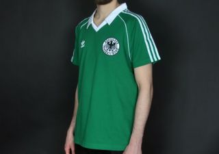 Adidas DFB Retro Longsleeve Tee Grün Weiss * EM 2012 Deutschland