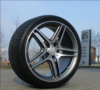 Neuer Exklusiver 19 Zoll Sportive Radsatz im AMG Look Mercedes E Kl