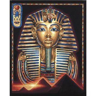 Schipper 9130 387   Malen nach Zahlen, Maske Tut Anch Amun, 40x50 cm