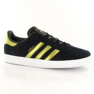 Adidas Gazelle Black Gold Kinder Sneakers Größe 30 EU