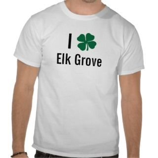 love (shamrock) Elk Grove St Patricks Day Shirts