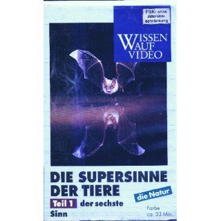 Die Supersinne der Tiere 1   Der sechste Sinn [VHS] VHS