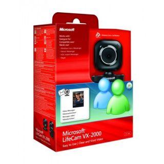 Microsoft LifeCam VX 2000 VX2000 USB HD WEB CAM Webcam WINDOWS LIVE