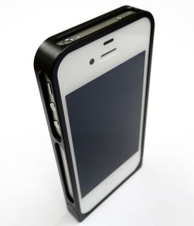 Iphone 4 S ALU ROKFORM Cover HÜLLE Bumper no metall +carbon folie