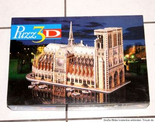 3D Puzzle Notre Dame 952 Teile 3DPuzzle Puzz3D von MB