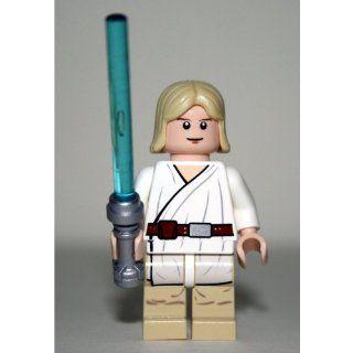 LEGO Star Wars Minifigur   Luke Skywalker mit blauem Laserschwert