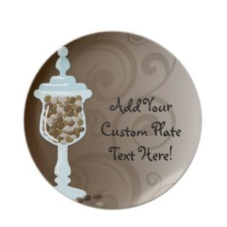 Chocolate Candy Buffet Bar, Urn of Sweets Party Plate
