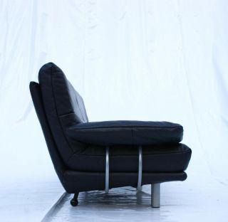 Leder Design Couch Sofa Marke bmp von Rolf Benz 3er 3 Sitzer