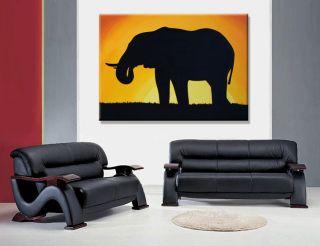 Africa Elefant Afrika Bilder Modern POP ART Bild XXL
