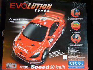 Evolution Tuner Peugeot 307 WRC 2004 30kmh NIKKO NEU