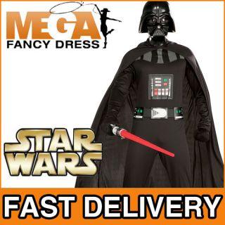 Karneval Halloween Herren STAR WARS Darth Vader Kostüm Erwachsene