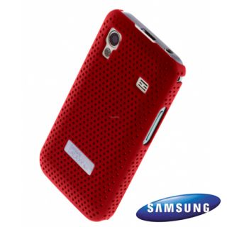 Genuine Samsung Galaxy Ace S5830 Mesh Vent Case   Red