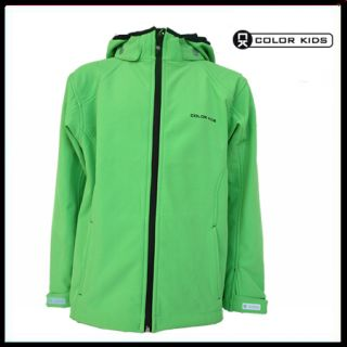 Color Kids Jebus softshell unlimited Green