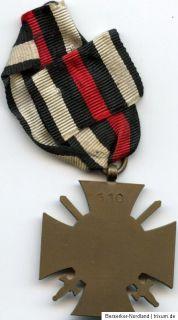 Ehrenkreuz für Frontkämpfer Herst. G 10 Eisernes Kreuz Iron cross