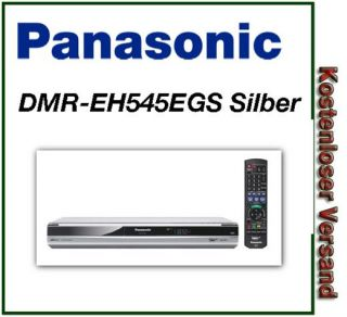 Panasonic DMR EH545EGS Silber DVD Recorder, intgr. Festplatte (160GB