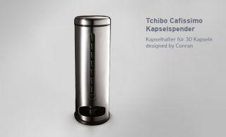 Tchibo Cafissimo Kapselspender Kapselhalter für 30 Kapseln designed